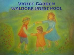 violet grade waldorf preschool logo